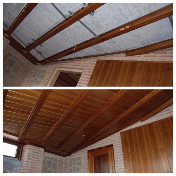 Carpinterias de madera puerto banus malaga armavelo - Techo abuhardillado ...